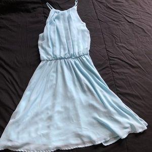 Lush Baby Blue Occasion Dress